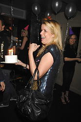 DUNCAN STIRLING and SABINE ROEMER at a party to celebrate the 1st birthday of nightclub Kitts, 7-12 Sloane Square, London on 5th March 2008.<br /><br />NON EXCLUSIVE - WORLD RIGHTS