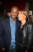 l to r: Stephen Hill and Sylvia Rhone at The Vibe Magazine Presents Vsessions Live! Hosted by the Fabulous Toccara featuring Hal Linton, Suai and Ron Browz held at Joe's Pub on February 25, 2009 in NYC