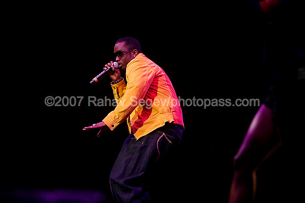 Sean P. Diddy Combs performing at The Scream Tour at Madison Square Garden on August 22, 2007. ..