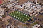 Aerial Photography of Baltimore Area Turf Athletic Fields