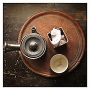Traditional Japanese tea set - for daily use