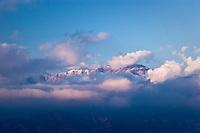 First Winter Storm, San Gabriel Mountains, California