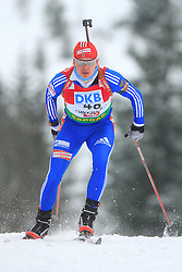 Ivan Tcherezov (RUS) at Men 20 km Individual at E.ON Ruhrgas IBU World Cup Biathlon in Hochfilzen (replacement Pokljuka), on December 18, 2008, in Hochfilzen, Austria. (Photo by Vid Ponikvar / Sportida)