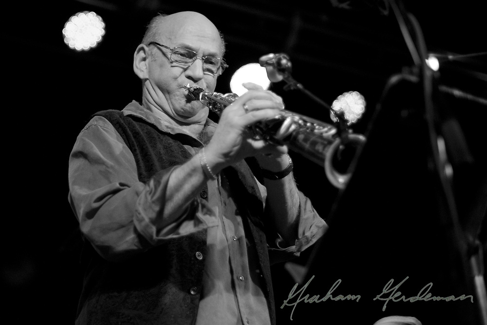 Saxophonist David Liebman at 3rd and Lindsley in Nashville, TN.