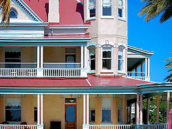 Back View, Southernmost House, Key West, Florida