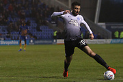 20 Michael Doughty for Peterborough United during the EFL Sky Bet League 1 match between Shrewsbury Town and Peterborough United at Greenhous Meadow, Shrewsbury, England on 24 April 2018. Picture by Graham Holt.