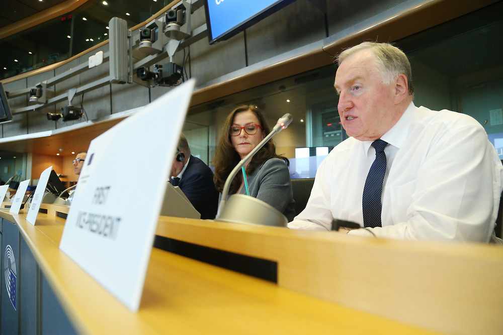12 May 2017, 123rd Plenary Session of the European Committee of the Regions <br /> Belgium - Brussels - May 2017 <br /> <br /> Mr LAMBERTZKarl-Heinz, Member of the Parliament of the German-speaking Community, Belgium<br /> <br /> &copy; European Union / Patrick Mascart