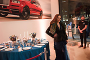 FIONA DAVIDOFF, Hubert de Vinols hosts the launch of Tables D'Exception, Rolls Royce Showroom,  Berkeley Sq. London. 29 November 2018