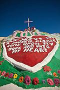 Leonard Knight's Salvation Mountain in Niland, California