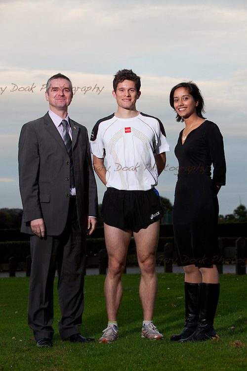 Graeme Oudney..ACCA member and 800m runner in training for the 2012 Olympics.