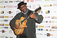 Floyd Parris (jazz musician), Screen Nation Film & Television Awards, Park Plaza Riverbank Hotel, London UK, 23 February 2014, Photo by Vickie Flores.
