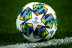 UEFA Champions League ball for the 2019/20 season - Mandatory by-line: Robbie Stephenson/JMP - 02/10/2019 - FOOTBALL - Anfield - Liverpool, England - Liverpool v Red Bull Salzburg - UEFA Champions League Group Stage