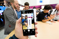 Huawei P9 smart phone at 2016  IFA (Internationale Funkausstellung Berlin), Berlin, Germany