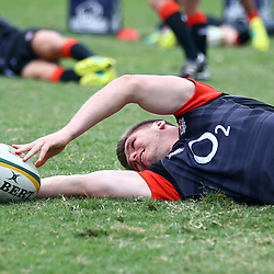 Owen Farrell (Saracens) during the England Rugby training session at  Jonsson Kings Park Stadium,Durban.South Africa. 20,06,2018 Photo by (Steve Haag JMP)