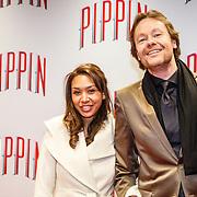 NLD/Amsterdam/20160310 - Premiere Pippin, Gijs Staverman en partner Annabel