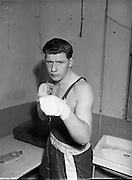 D. Barlow (St Mary's, Clonmel) at National Junior Boxing Championships, heavyweight runner up.18/12/1952