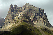 Italy, Alps mountain peak