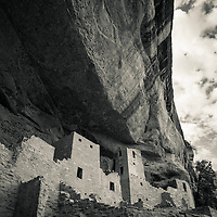 """Cliff Pallace"" Native American dwellings at Mesa Verde National Park in southwest Colorado, USA."