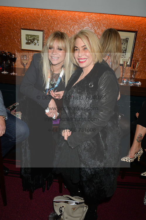 Left to right, JO WOOD and BRIX SMITH START at the Cirque Du Soleil's VIP performance of Kooza at The Royal Albert Hall, London on 6th January 2015.