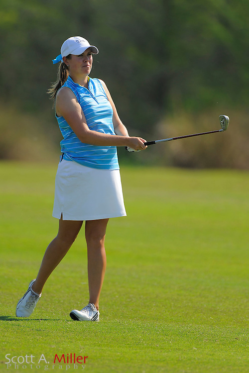 Laura Nochta during the second round of the LPGA Futures Tour's Daytona Beach Invitational at LPGA International's Championship Course on April 2, 2011 in Daytona Beach, Florida... ©2011 Scott A. Miller