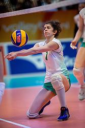 01-04-2017 NED:  CEV U18 Europees Kampioenschap vrouwen dag 1, Arnhem<br /> Nederland - Bulgarije verliest met 1-3 / Plamena Koramenova #1