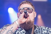 Rag 'N' Bone Man plays the Obelisk stage - The 2018 Latitude Festival, Henham Park. Suffolk 15 July 2018