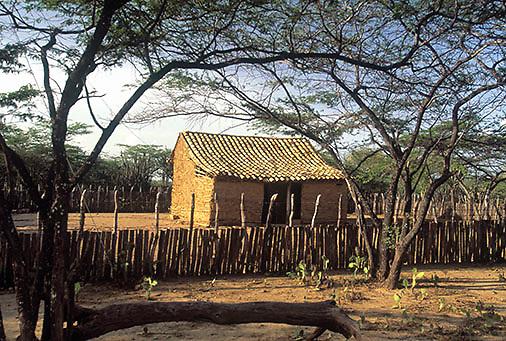 Casa de bahareque, La Otra Banda, Carora, Estado Lara, Venezuela