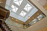 Commercial Lobby Atrium Skylights. 6518 Meadowridge Rd.