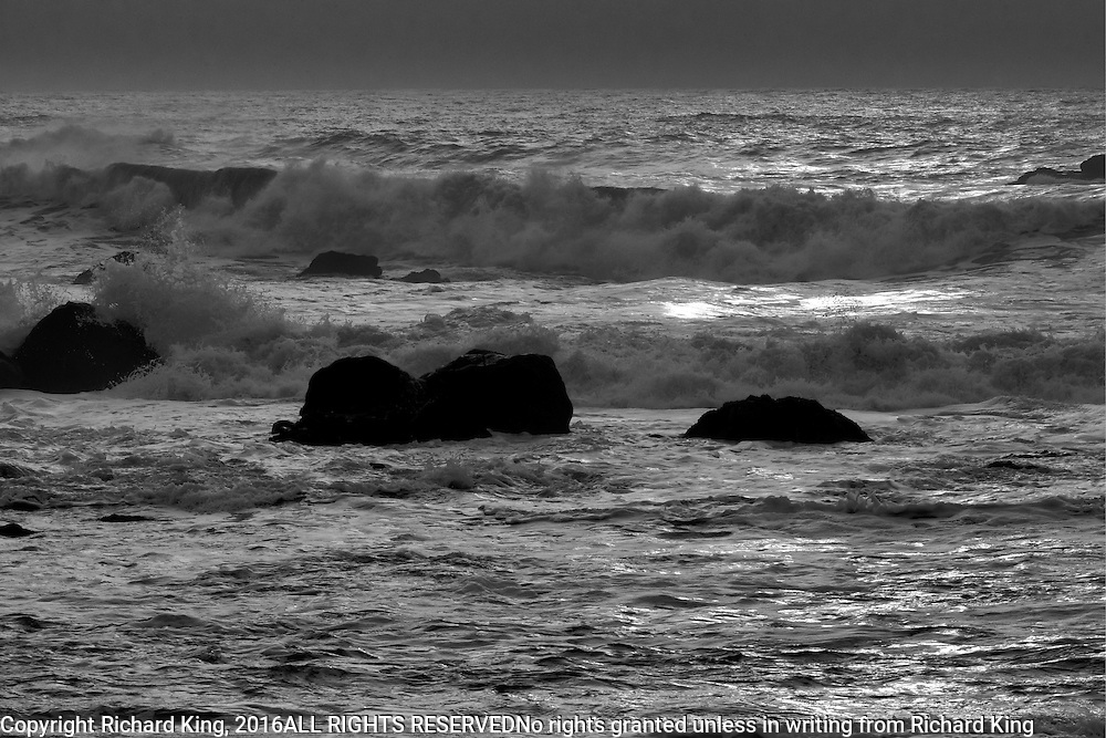 Seascape photographs Pacific Ocean from Redwood National Park, CA