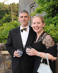 Pictured at the Mid-Summer Banquet at Westport Food Festival at Wesport House on friday last, Jim Powers and Catherine O'Grady-Powers<br /> Pic Conor McKeown.