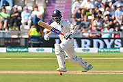 Ajinkya Rahane of India batting during the 4th day of the 4th SpecSavers International Test Match 2018 match between England and India at the Ageas Bowl, Southampton, United Kingdom on 2 September 2018.