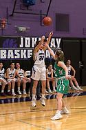 John Jay Girls Varsity Basketball game  on January 26, 2018. (photo by Gabe Palacio)