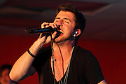 David Carlson, lead singer for A Kidnap In Color, performs at Fiesta in Tinley Park.