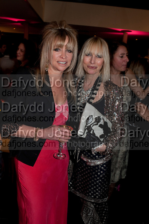JO WOOD; VIRGINIA BATES, InStyle's Best Of British Talent Party in association with Lancome. Shoreditch HouseLondon. 25 January 2011, -DO NOT ARCHIVE-© Copyright Photograph by Dafydd Jones. 248 Clapham Rd. London SW9 0PZ. Tel 0207 820 0771. www.dafjones.com.