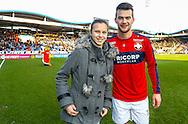 20-12-2015 VOETBAL:WILLEM II-RODA JC:TILBURG<br /> Supporter van de week met Erik Falkenburg van Willem II <br /> <br /> Foto: Geert van Erven