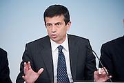 2013/05/31 Roma, conferenza stampa a margine del Consiglio dei Ministri. Nella foto Maurizio Lupi.<br /> Rome, Cabinet Meeting press conference. In the picture Maurizio Lupi - &copy; PIERPAOLO SCAVUZZO
