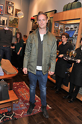 Actor JACK FOX at the opening of the new Jack Spade store at 83 Brewer street, London on 29th March 2012.