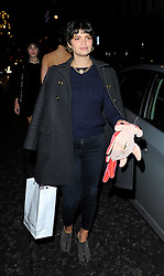 Pixie Geldof attends the Tunnel of Love fundraiser in aid of the British Heart Foundation at One Mayfair in London, UK. 12/11/2013<br />BYLINE MUST READ : GOTCHAIMAGES.COM<br /><br />Copyright by © Gotcha Images Ltd. All rights reserved.<br />Usage of this image is conditional upon the acceptance <br />of Gotcha Images Ltd, terms and conditions available at<br />www.gotchaimages.com