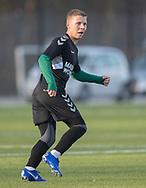 FODBOLD: Sebastian Elvang (AB) under træningskampen mellem FC Helsingør og AB den 19. januar 2019 på Snekkersten Idrætscenter. Foto: Claus Birch