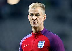 Joe Hart of England - Mandatory by-line: Robbie Stephenson/JMP - 11/10/2016 - FOOTBALL - RSC Stozice - Ljubljana, England - Slovenia v England - World Cup European Qualifier