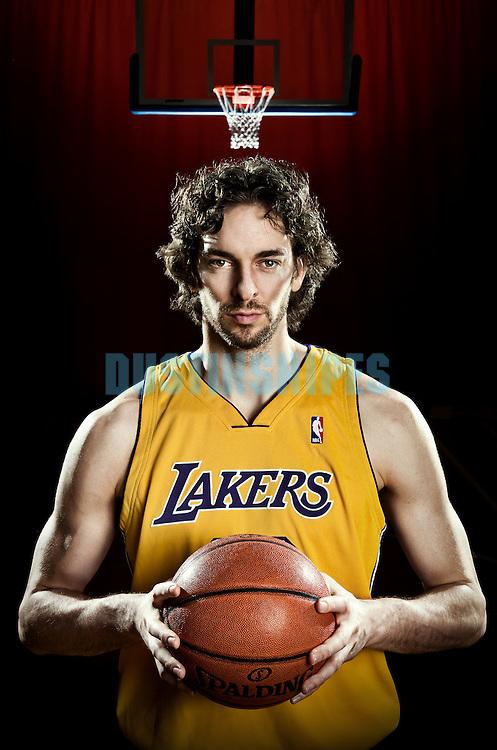 Los Angeles Lakers Pau Gasol..
