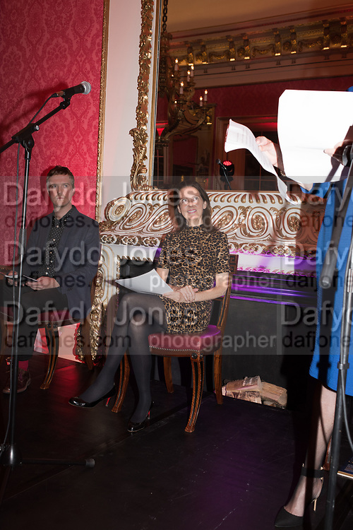 LUCY BERESFORD, Literary Review  40th anniversary party and Bad Sex Awards,  In & Out Club, 4 St James's Square. London. 2 December 2019