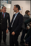 JOHN RITBLAT; MATHEW SLOTOVER, Opening of Frieze art Fair. London. 14 October 2014