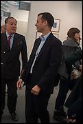 JOHN RITBLAT; MATHEW SLOTOVER, Opening of Frieze art Fair. London. 14 October 2014