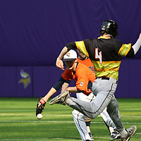 Carroll vs UW-Superior Baseball, March 8, 2018. Jeff Lawler, d3photography.com