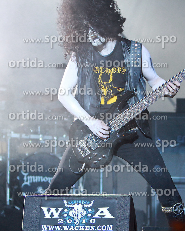 07.08.2010, Wacken Open Air 2010, Wacken, GER, 3.Tag beim 21.Heavy Metal Festival Auftritt der norwegischen Band Immortal, EXPA Pictures © 2010, PhotoCredit: EXPA/ nph/  Kohring+++++ ATTENTION - OUT OF GER +++++ / SPORTIDA PHOTO AGENCY