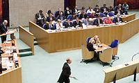 Nederland. Den Haag, 19 september 2007.<br /> Tweede dag algemene politieke beschouwingen in de tweede kamer.<br /> Vak K, Jan Marijnissen spreekt.<br /> Foto Martijn Beekman <br /> NIET VOOR TROUW, AD, TELEGRAAF, NRC EN HET PAROOL