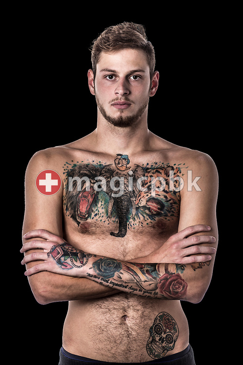 Swimmer Nico SPAHN of Switzerland poses for a portrait during a photo shot in Uster, Switzerland, Saturday, Feb. 4, 2017. (Photo by Patrick B. Kraemer / MAGICPBK)
