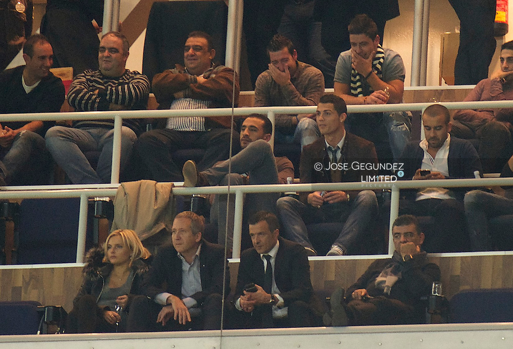 Cristiano Ronaldo during the UEFA Champions League match between Real Madrid and Galatasaray. Real Madrid won the match 4-1 at Santiago Bernabeu on November 27, 2013 in Madrid