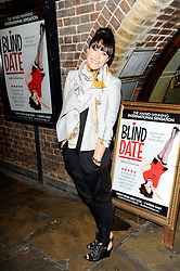 Anna Richardson during Blind Date - press night, Charing Cross Theatre,  London, United Kingdom, 04 June 2013. Photo by Chris Joseph / i-Images.